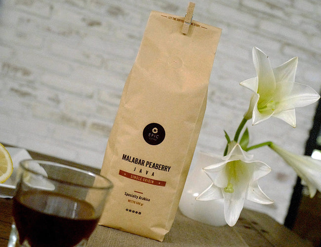 Malabar Peaberry Honey 500 gr