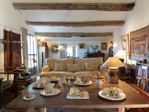 Step inside a charming 16th century home in the heart of a medieval Provençal village.