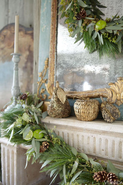 Christmas mirror French christmas ideas
