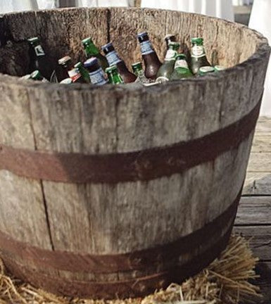 French oak wine barrel ice bucket beer wine champagne for sale