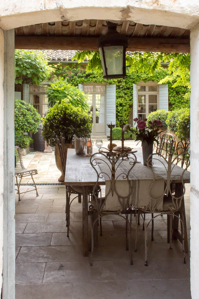 French wrought iron garden furniture French garden