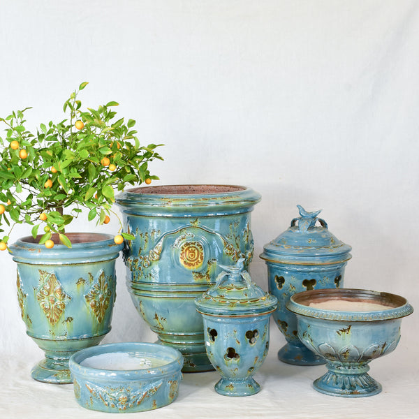 Bespoke hand crafted Anduze urns and coupes made to order
