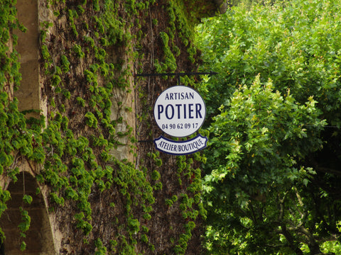 Bespoke pottery in Provence