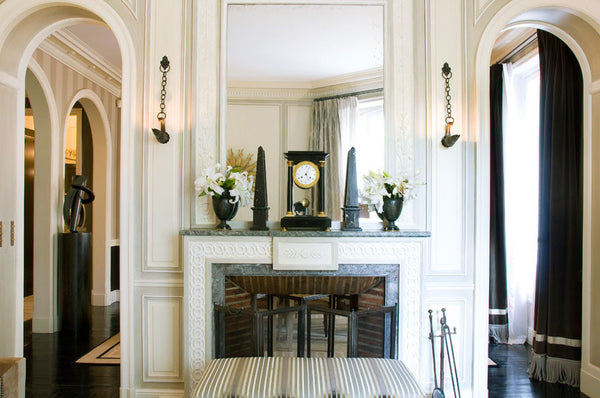 Parisian apartment interior design