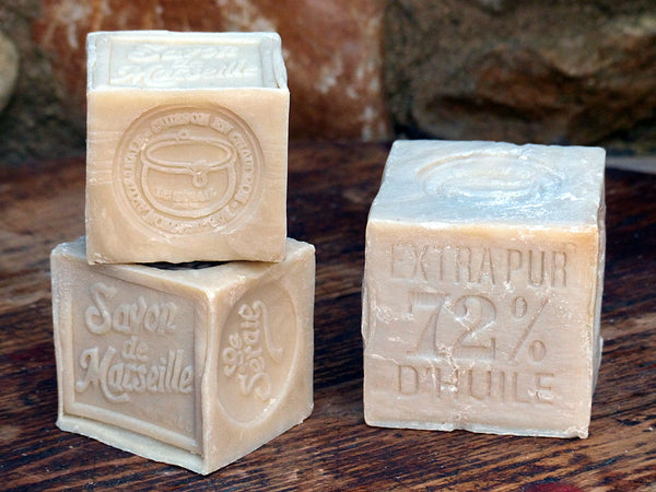 Soap from Marseille savon famous cube soap French gift idea for the francophile