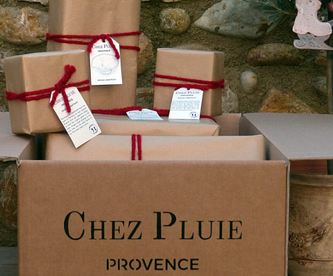 Gift wrapped presents from France