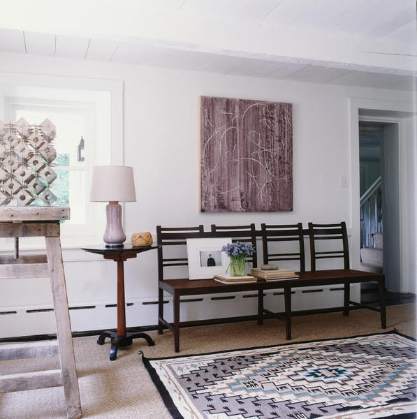 Hallway with bench seat by Mark Cunningham