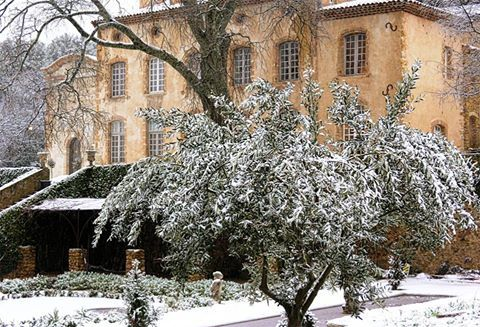 Christmas in France vacation ideas Provence chateau