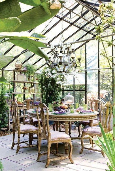 Garden room garden goals chippendale chairs