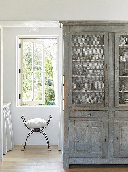 Antique French armoire Patina Farm decorating ideas