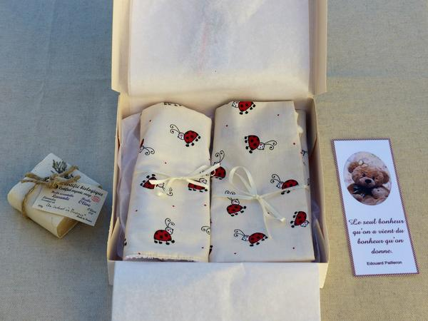 French baby gift box newborn fast shipping from France to United States