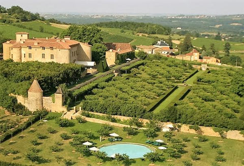 Luxury vacation in France stay in French chateau