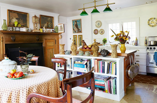 Kitchen Bunny Williams collected aesthetic French antiques