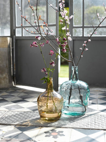 Seven decorating ideas with demi john demijohn bottles