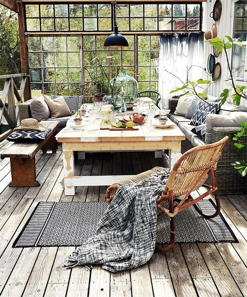 rattan cane wicker furniture garden room