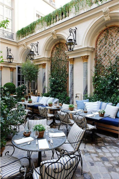 Ralph's Paris French courtyard