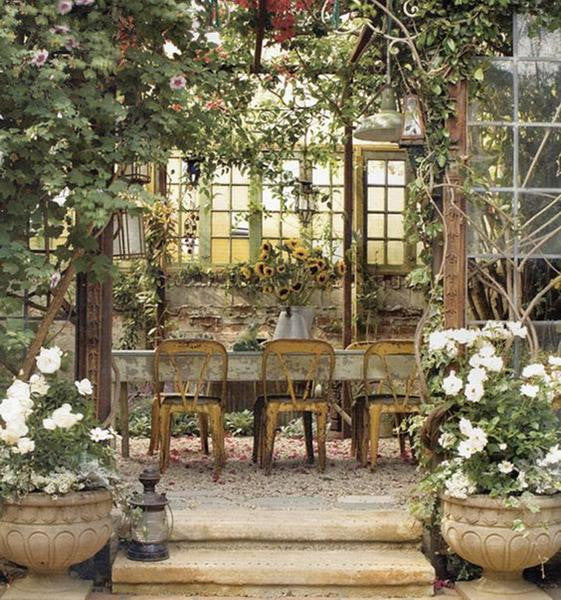 French garden room ideas