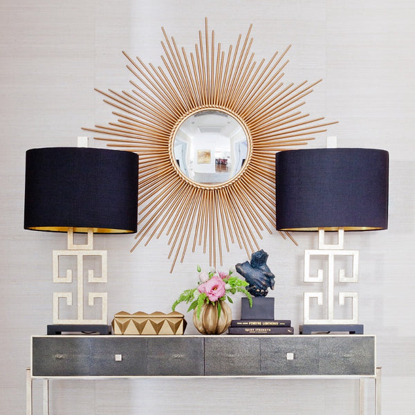 Sunburst mirror gold buy direct from France