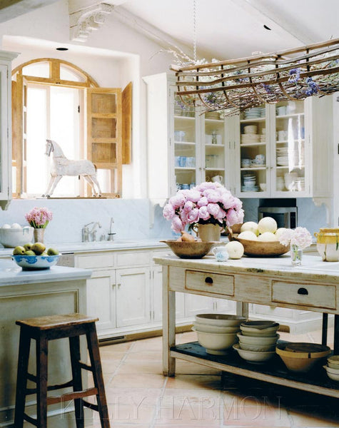 Kelly Harmon kitchen French style