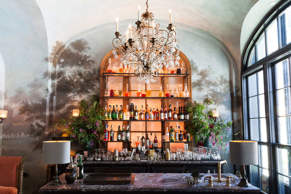 Le Coucou New York by Roman & Williams beautiful chic eclectic bar ideas