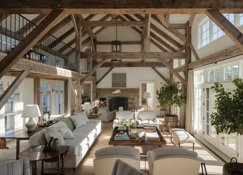 Mark Cunningham inspiring interior design modern farmhouse barn