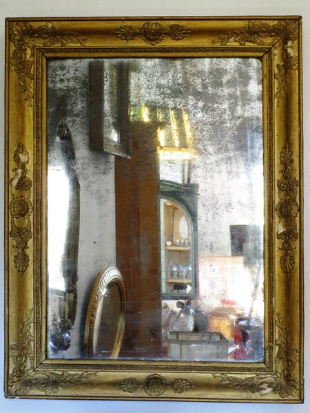19th century french gilt wood mirror with original glass buy online french decor direct from france cheaper than 1st dibs