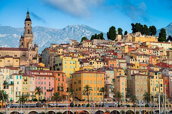 Menton French Riviera pearl of the Cote D'Azur Christmas in France holiday ideas vacation