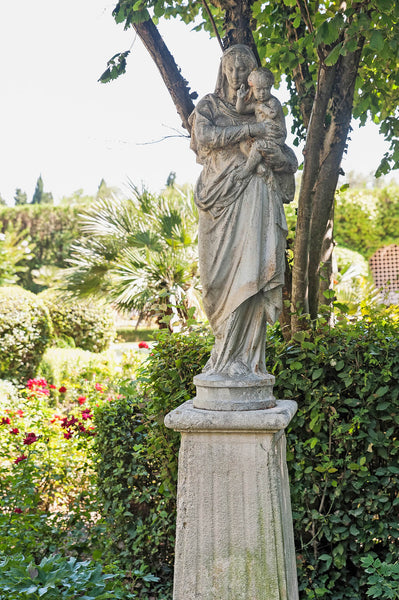 Antique garden sculpture garden statue French garden