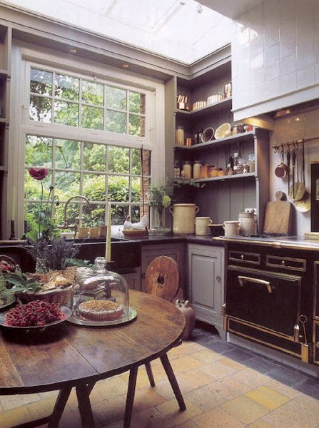 French farmhouse kitchen Walda Pairon