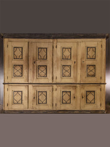 Very large 17th Century Italian cabinetry boiserie