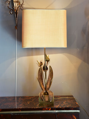 Large pair of vintage Maison Charles table lamps
