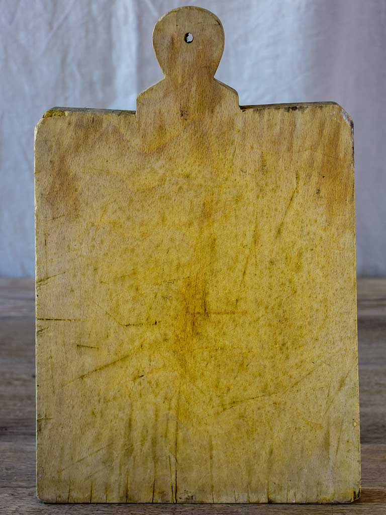 Antique French cutting board 16½""