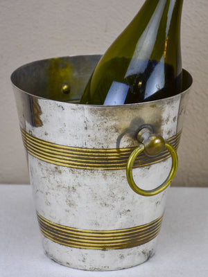 Vintage French wine cooler