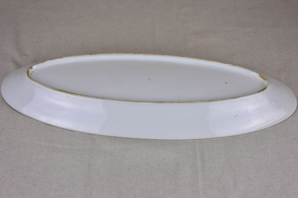 Antique Limoges fish platter 1/5