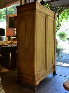 Small rustic French directoire armoire