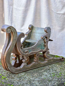 19th Century artisan made christmas sleigh