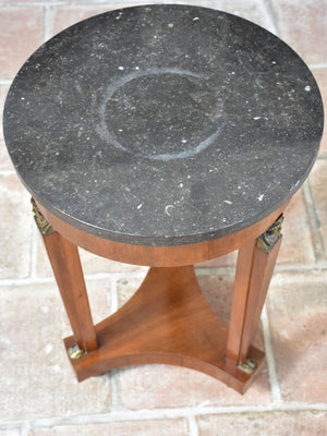 Small Empire style marble side table