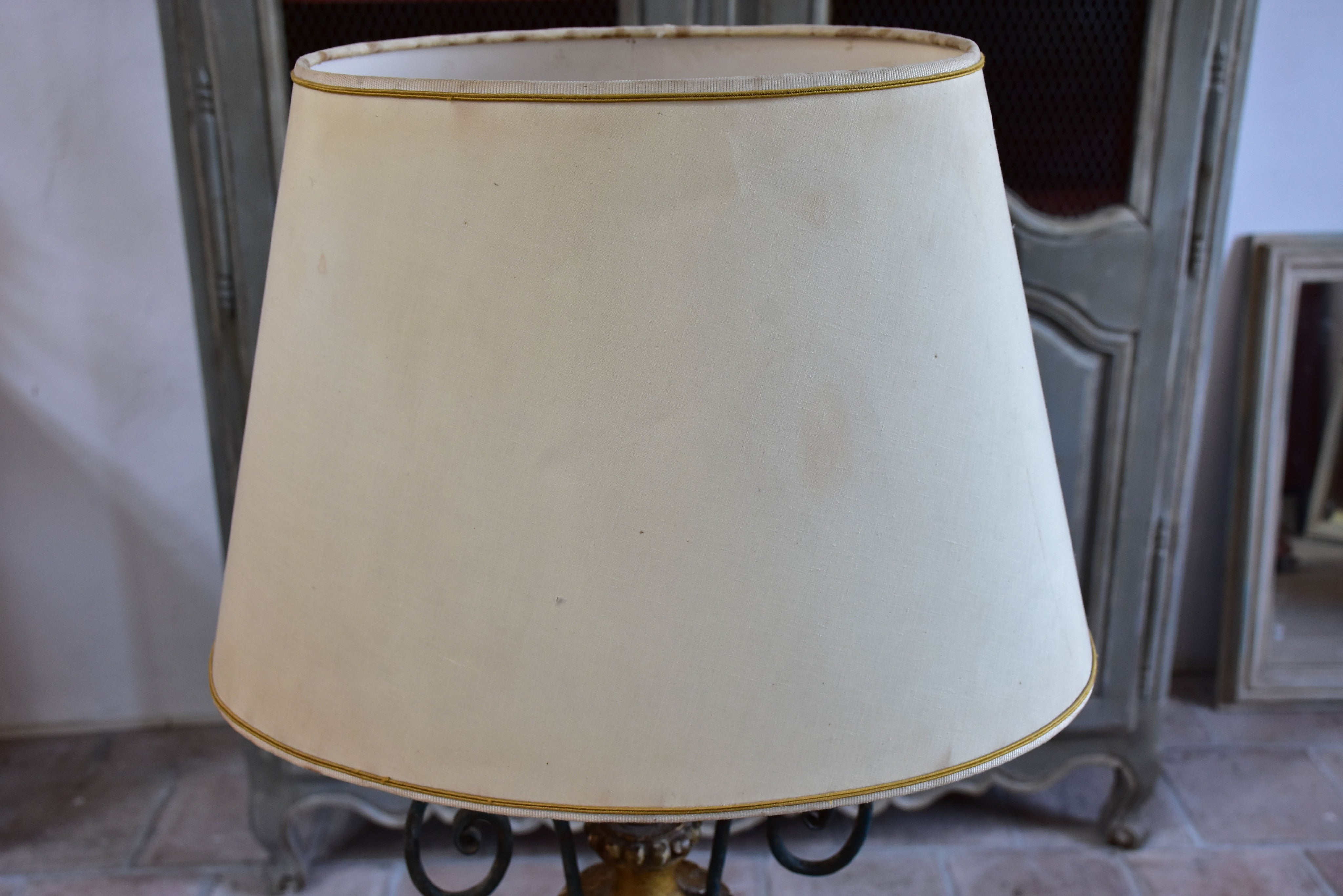 Late 18th century Louis XVI French lamp