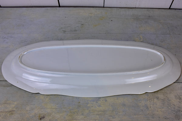 Antique French Fish platter 5 / 5