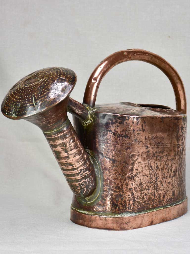 Early nineteenth century French copper watering can