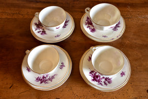 Collection of Limoges porcelain Theodore Haviland