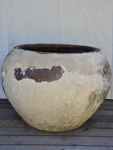 "Very large vietnamese cauldron for making nuoc-mâm 35½"" x  25½"""