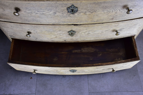 18th Century French commode with three drawers