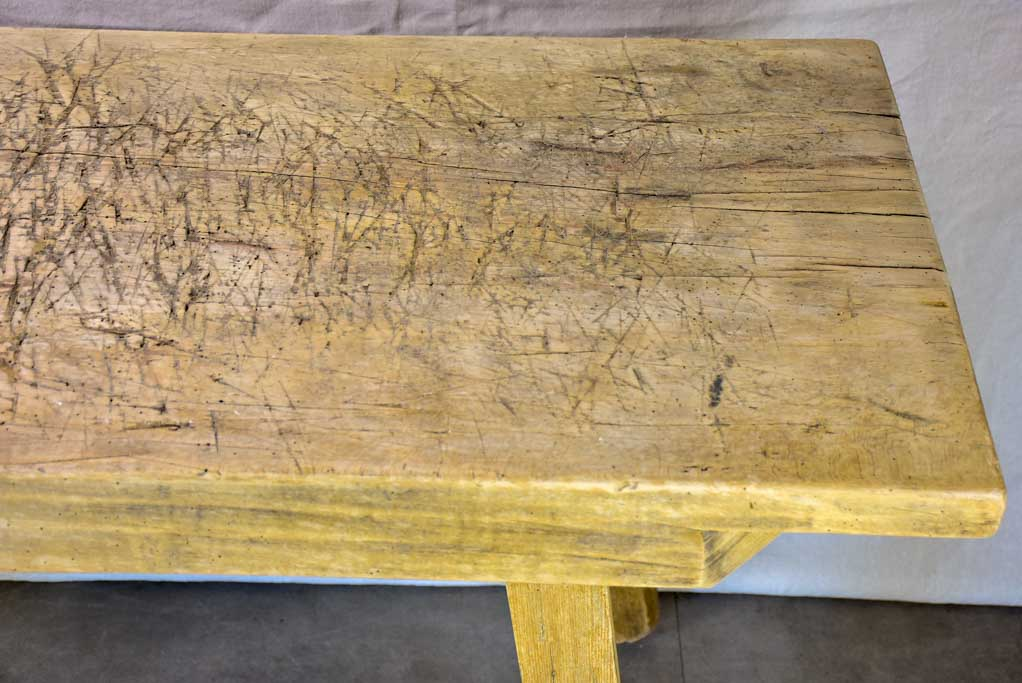 "Very rustic work table from the late 19th / early 20th century 24"" x 55½"""