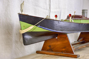 Large early 20th Century motor boat - American 65¾""