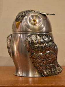 Owl shaped French ice bucket - 1970's