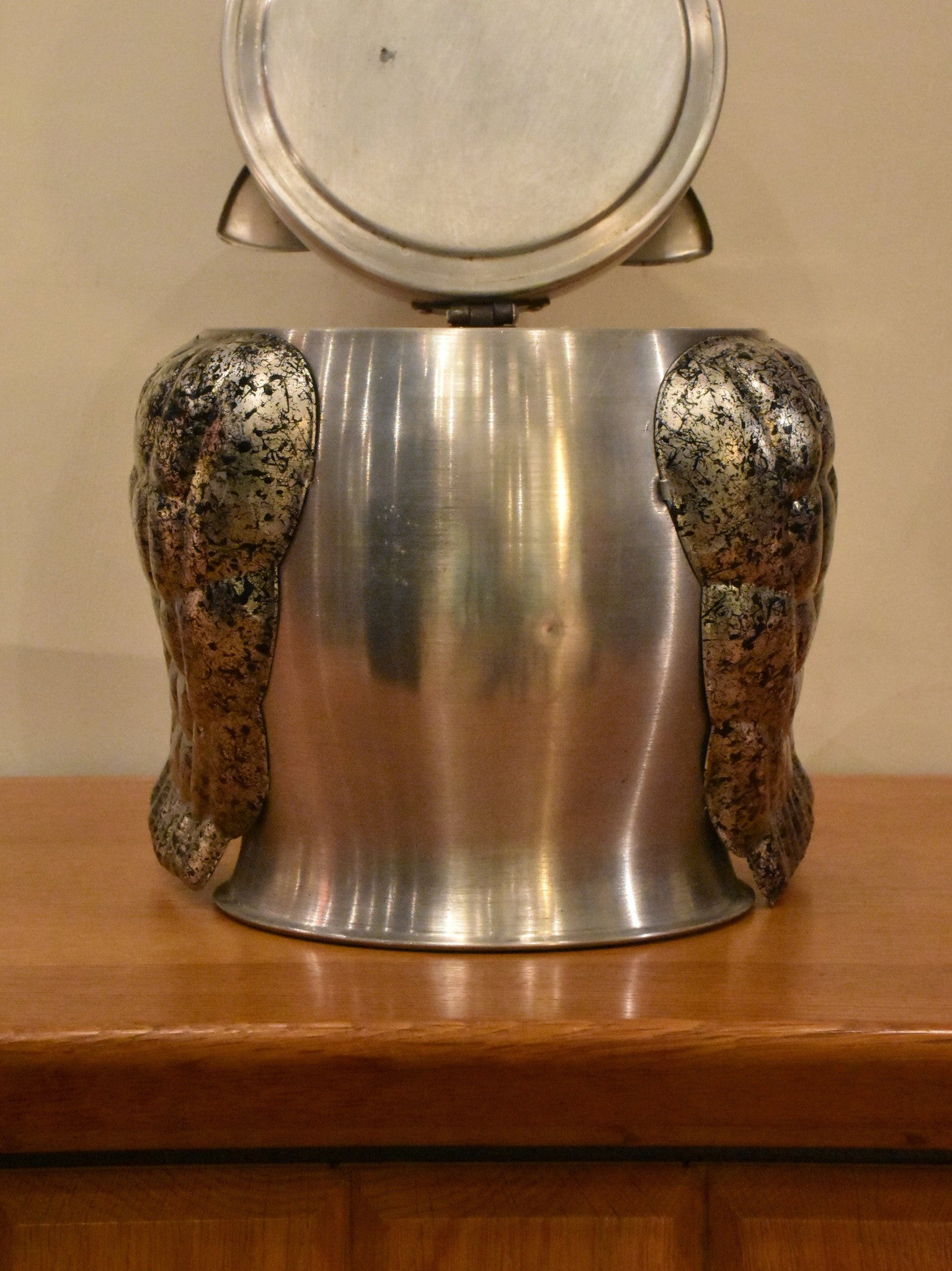 Owl shaped French ice bucket – 1970's