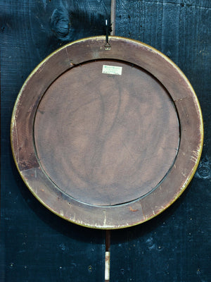 Vintage round French mirror