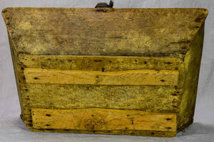 "Rustic antique French harvest basket 20¾"" x 14½"""