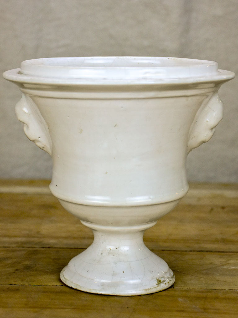 Early 20th Century ironstone flower pot